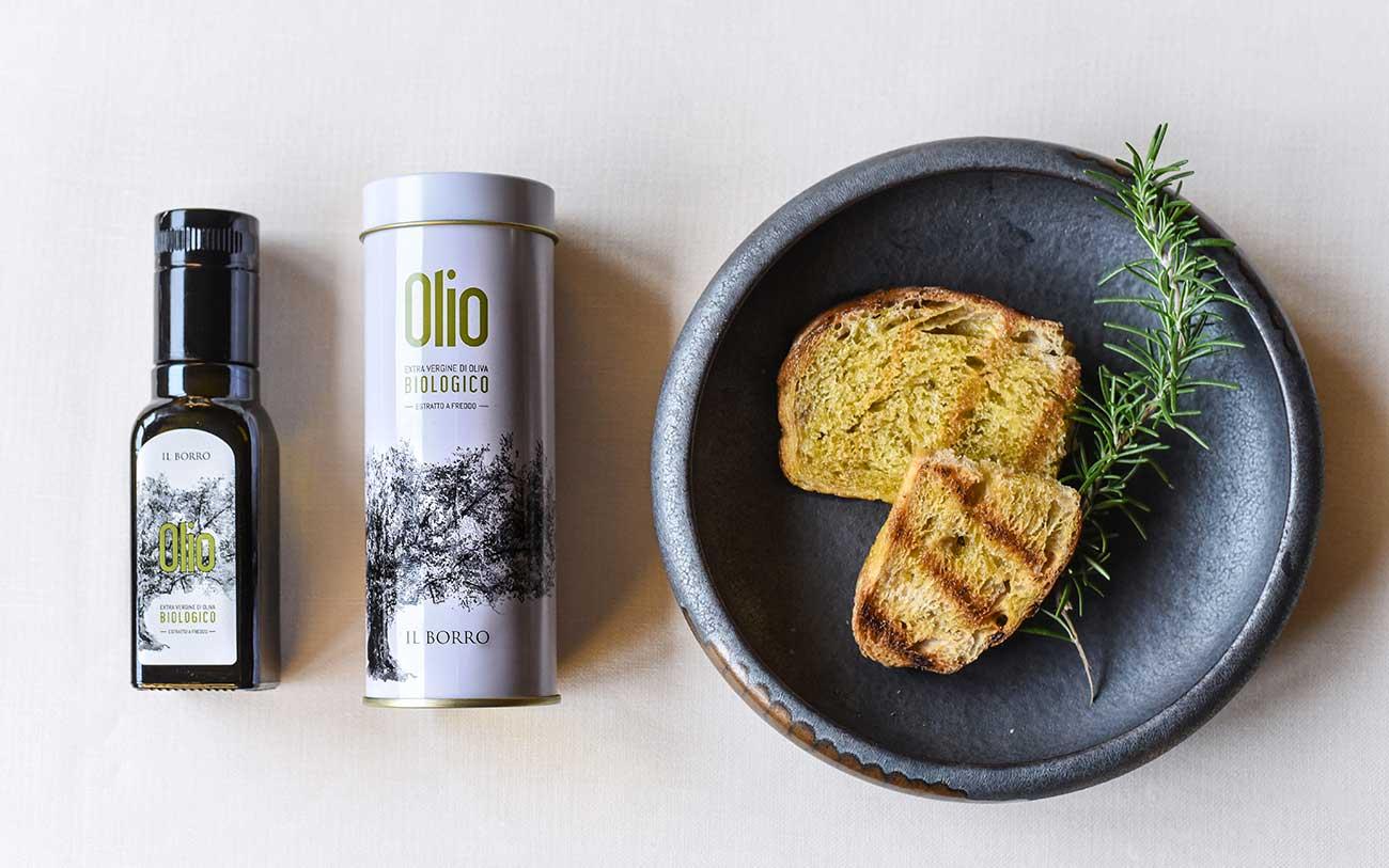 Olio Il Borro, packaging - Portfolio, Progetto Undici, Firenze
