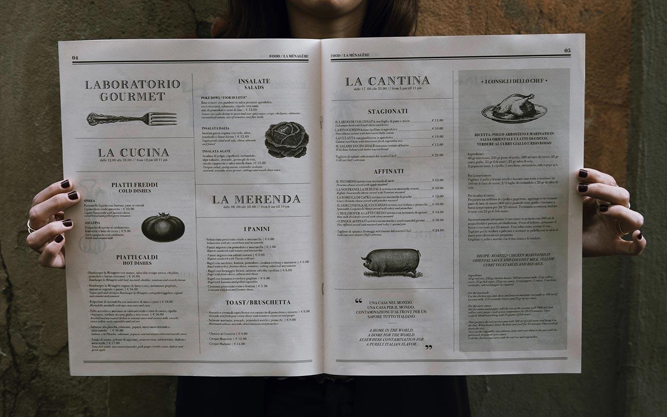 La Menagere, Graphic - Portfolio, Progetto Undici, Firenze
