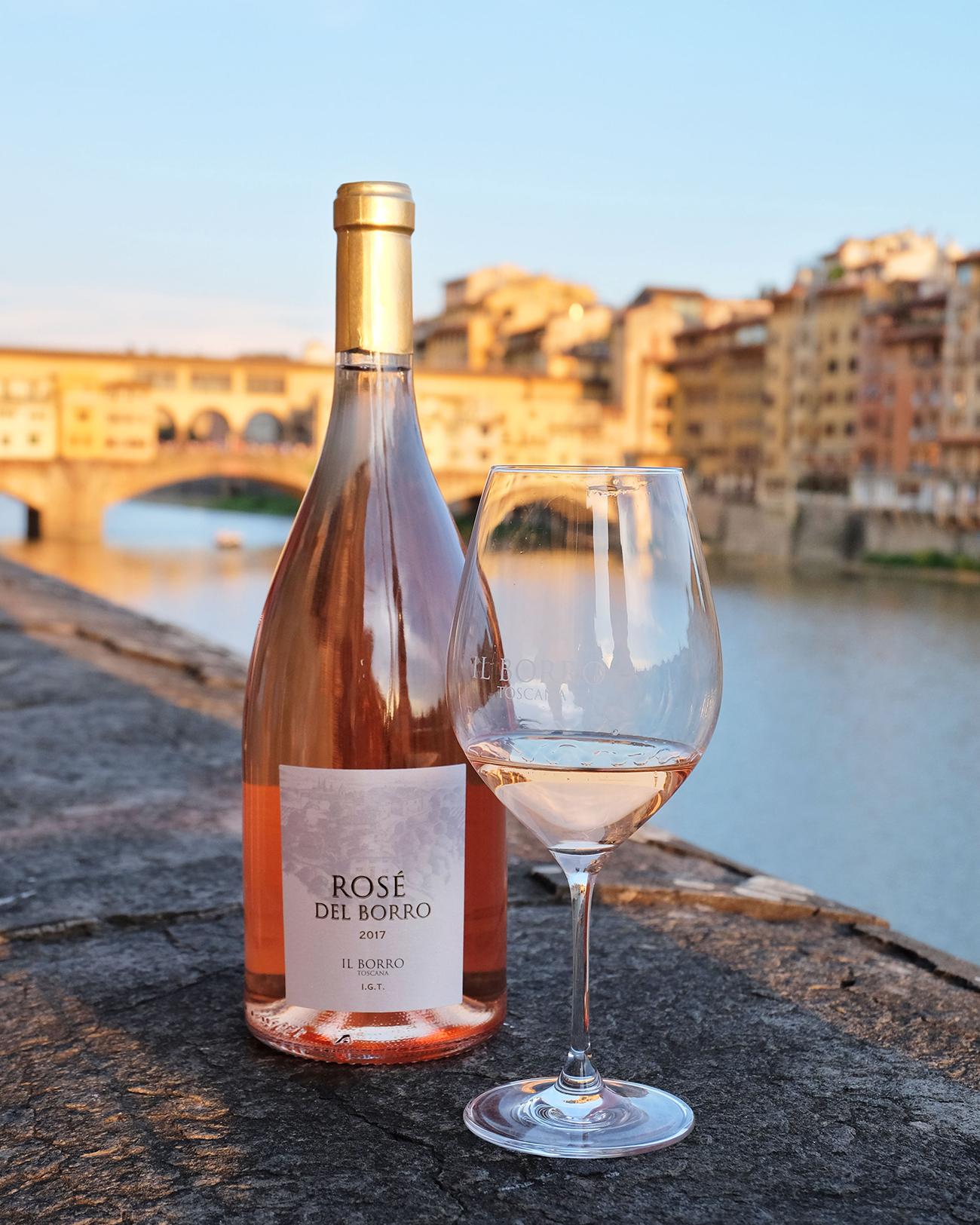 Rosè del Borro, Brand Identity - Portfolio, Progetto Undici, Firenze