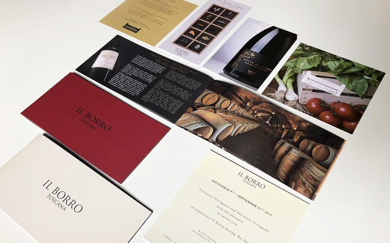 Il Borro, Brand Identity - Portfolio, Progetto Undici, Firenze