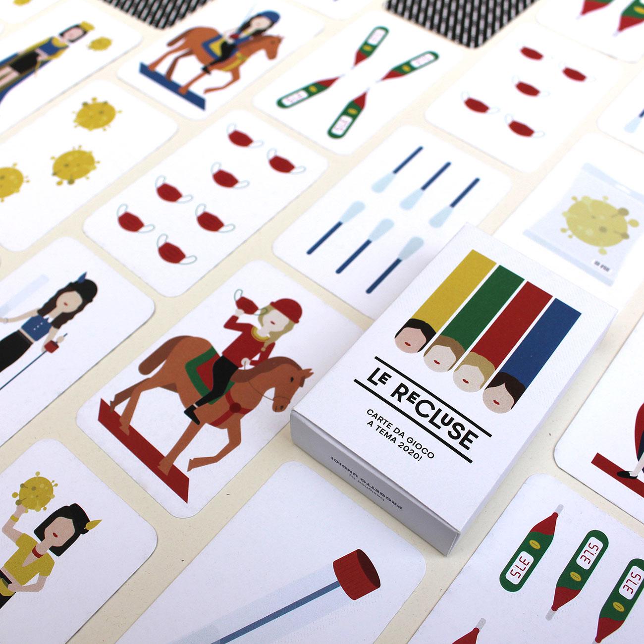Le Recluse, carte da gioco a tema - Prodotti, Progetto Undici