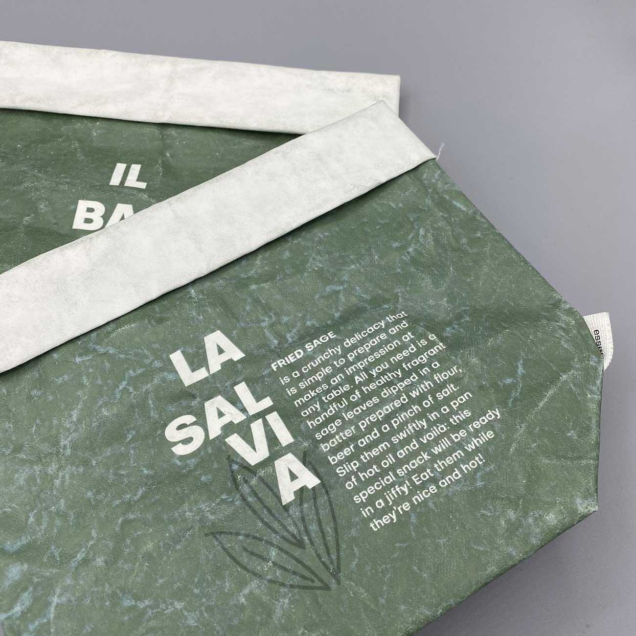 Green Sacchetti Essènt'ial - Prodotti, Progetto Undici