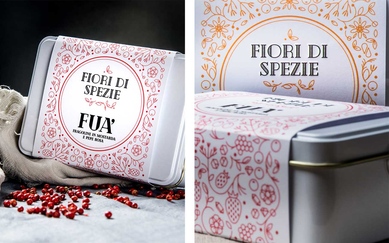 Fiori di Spezie, Packaging- Portfolio, Progetto Undici, Firenze
